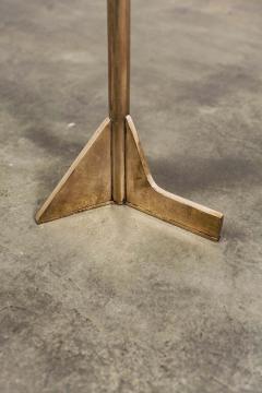 Costantini Design Bellance Cigarette Table in Cast Bronze and White Ibiza Stone - 1570848