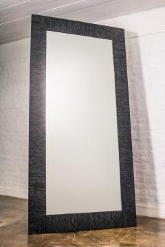 Costantini Design Black Maple Wood Large Standing Mirror from Costantini In Stock - 1987812