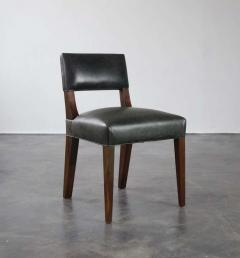 Costantini Design Bruno Low Side Chair in Argentine Rosewood and Leather from Costantini - 1563646