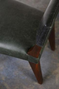 Costantini Design Bruno Low Side Chair in Argentine Rosewood and Leather from Costantini - 1563647
