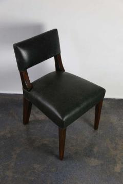 Costantini Design Bruno Low Side Chair in Argentine Rosewood and Leather from Costantini - 1563648