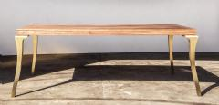 Costantini Design Cast Bronze and Wood Dining Table from Costantini Enzio In Stock  - 1897798