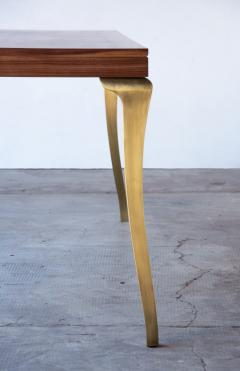 Costantini Design Cast Bronze and Wood Dining Table from Costantini Enzio In Stock  - 1897801
