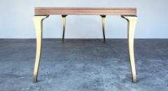 Costantini Design Cast Bronze and Wood Dining Table from Costantini Enzio In Stock  - 1897802