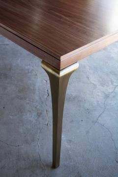 Costantini Design Cast Bronze and Wood Dining Table from Costantini Enzio In Stock  - 1897803