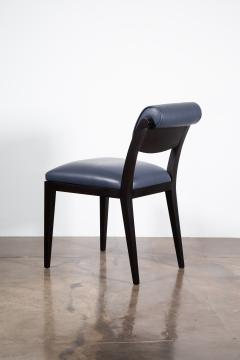 Costantini Design Contemporary Art Deco Style Leather Dining Chair from Costantini Gianni - 2121553