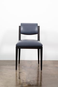 Costantini Design Contemporary Art Deco Style Leather Dining Chair from Costantini Gianni - 2121554