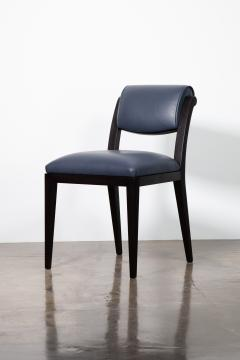 Costantini Design Contemporary Art Deco Style Leather Dining Chair from Costantini Gianni - 2121556
