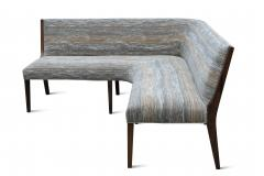 Costantini Design Contemporary Custom Made Carina Dining Booth in Fabric from Costantini - 1879305