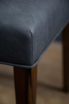 Costantini Design Contemporary Exotic Wood and Leather Side Chair from Costantini Renzo - 2090043