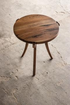 Costantini Design Contemporary Wood Sabre Leg Side Table from Costantini Uccello - 1944229