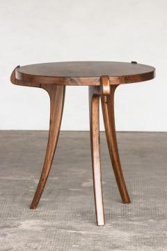 Costantini Design Contemporary Wood Sabre Leg Side Table from Costantini Uccello - 1944230