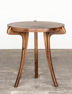 Costantini Design Contemporary Wood Sabre Leg Side Table from Costantini Uccello - 1944231