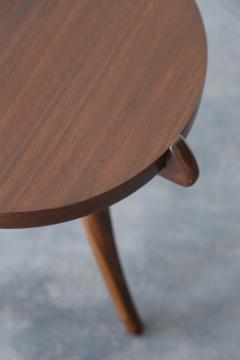 Costantini Design Contemporary Wood Sabre Leg Side Table from Costantini Uccello - 1944233