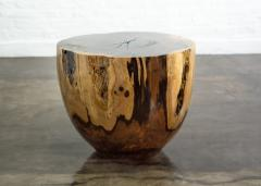Costantini Design Costantini Hand Carved Live Edge Solid Wood Trunk Cocktail Table 25 In Stock - 1897663