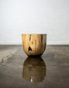 Costantini Design Costantini Hand Carved Live Edge Solid Wood Trunk Cocktail Table 26 In Stock - 1897765