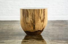 Costantini Design Costantini Hand Carved Live Edge Solid Wood Trunk Cocktail Table 26 In Stock - 1897766