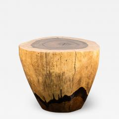 Costantini Design Costantini Hand Carved Live Edge Solid Wood Trunk Cocktail Table 31 In Stock - 2098246