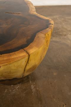 Costantini Design Costantini Hand Carved Live Edge Solid Wood Trunk Cocktail Table 34 In Stock - 2079950