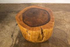 Costantini Design Costantini Hand Carved Live Edge Solid Wood Trunk Cocktail Table 35 In Stock - 2080004