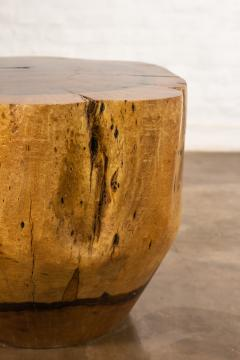 Costantini Design Costantini Hand Carved Live Edge Solid Wood Trunk Cocktail Table 35 In Stock - 2080005