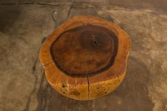 Costantini Design Costantini Hand Carved Live Edge Solid Wood Trunk Cocktail Table 35 In Stock - 2080007