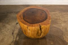 Costantini Design Costantini Hand Carved Live Edge Solid Wood Trunk Cocktail Table 35 In Stock - 2080013