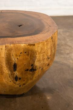 Costantini Design Costantini Hand Carved Live Edge Solid Wood Trunk Cocktail Table 35 In Stock - 2080015