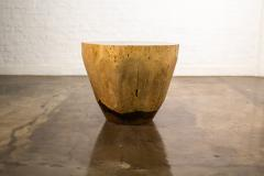 Costantini Design Costantini Hand Carved Live Edge Solid Wood Trunk Cocktail Table 36 In Stock - 2080025