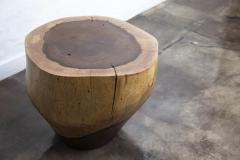 Costantini Design Costantini Hand Carved Live Edge Solid Wood Trunk Cocktail Table 39 In Stock - 2001807