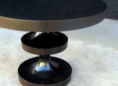 Costantini Design Ebonized Desiderio Turned Focal Table from Costantini - 1714800
