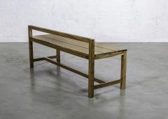 Costantini Design Exotic Solid Wood Modern Minimal Bench from Costantini Serrano - 1925003