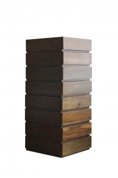Costantini Design Exotic Solid Wood Modern Minimal Modular Drawer Units Baccello - 1925460