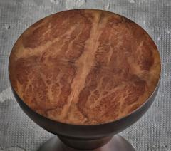 Costantini Design Exotic Turned Wood Contemporary Occasional Table from Costantini Caliz - 1967196