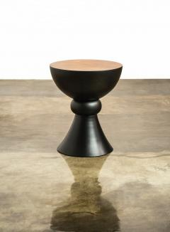 Costantini Design Exotic Turned Wood Contemporary Occasional Table from Costantini Caliz - 1967200