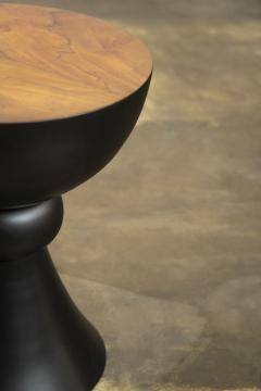 Costantini Design Exotic Turned Wood Contemporary Occasional Table from Costantini Caliz - 1967204