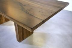 Costantini Design Exotic Wood Twin Pedestal Modern Dining Table from Costantini Andre In Stock - 2102013