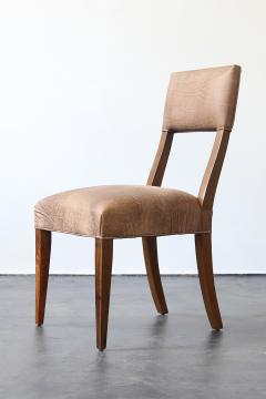 Costantini Design Luca High back Dining Chair from Costantini in Argentine Rosewood and Leather - 1671403