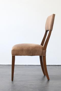 Costantini Design Luca High back Dining Chair from Costantini in Argentine Rosewood and Leather - 1671412
