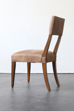 Costantini Design Luca High back Dining Chair from Costantini in Argentine Rosewood and Leather - 1671711