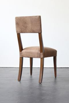 Costantini Design Luca High back Dining Chair from Costantini in Argentine Rosewood and Leather - 1671712