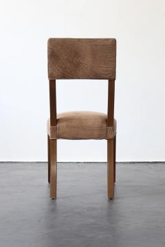 Costantini Design Luca High back Dining Chair from Costantini in Argentine Rosewood and Leather - 1671713
