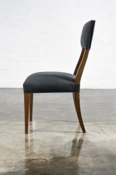 Costantini Design Luca High back Dining Chair from Costantini in Argentine Rosewood and Leather - 1750693