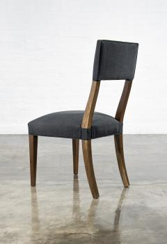 Costantini Design Luca High back Dining Chair from Costantini in Argentine Rosewood and Leather - 1750694