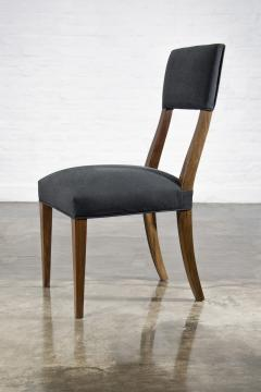 Costantini Design Luca High back Dining Chair from Costantini in Argentine Rosewood and Leather - 1750695