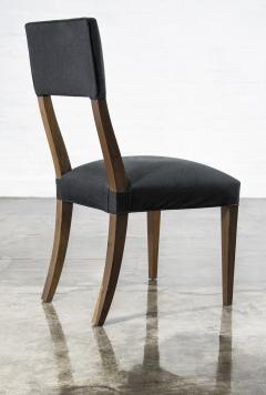 Costantini Design Luca High back Dining Chair from Costantini in Argentine Rosewood and Leather - 1750696