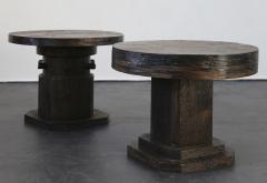 Costantini Design Malbec Side Tables in recovered wood from Costantini - 1686462