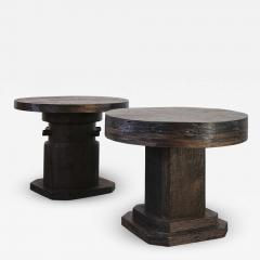 Costantini Design Malbec Side Tables in recovered wood from Costantini - 1839459