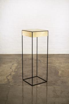 Costantini Design Marcello Side Table in Parchment from Costantini - 1852044