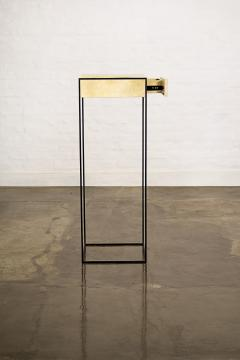 Costantini Design Marcello Side Table in Parchment from Costantini - 1852046
